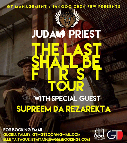 Last Shall Be First Tour
