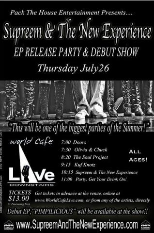 EP Release Party Flyer
